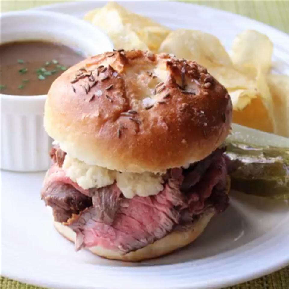 Chef John's Beef on Weck Sandwiches Lorem Ipsum