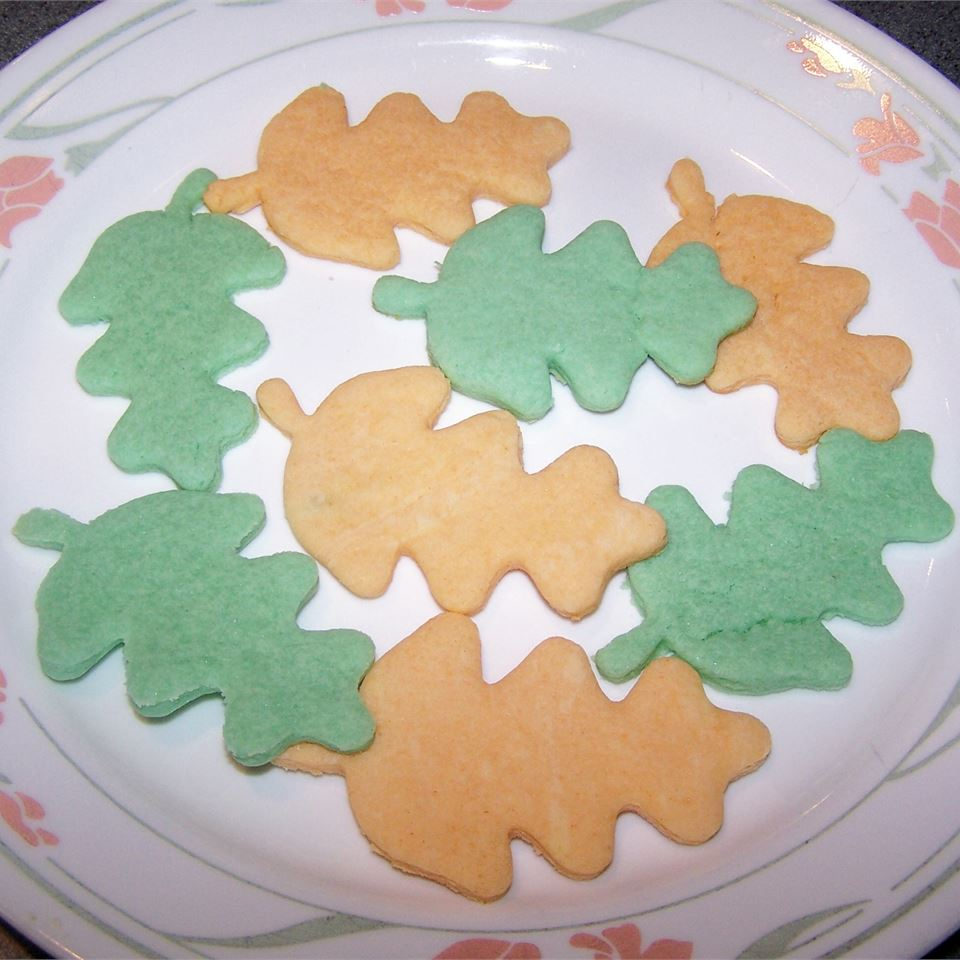 Party Cookies coral_bell