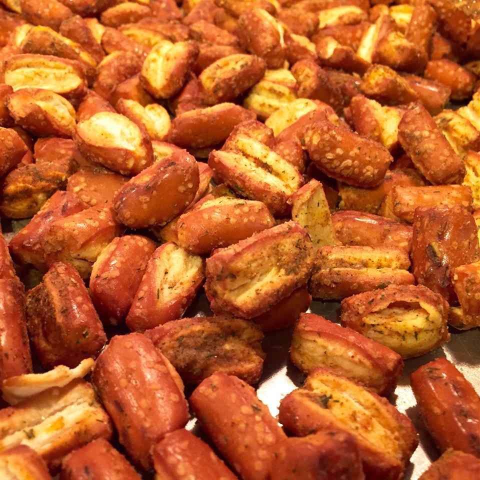 Spicy Cajun Pretzels