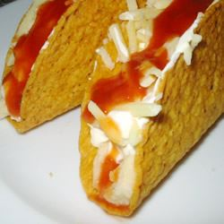 Mashed Potato Tacos Hot Chilli