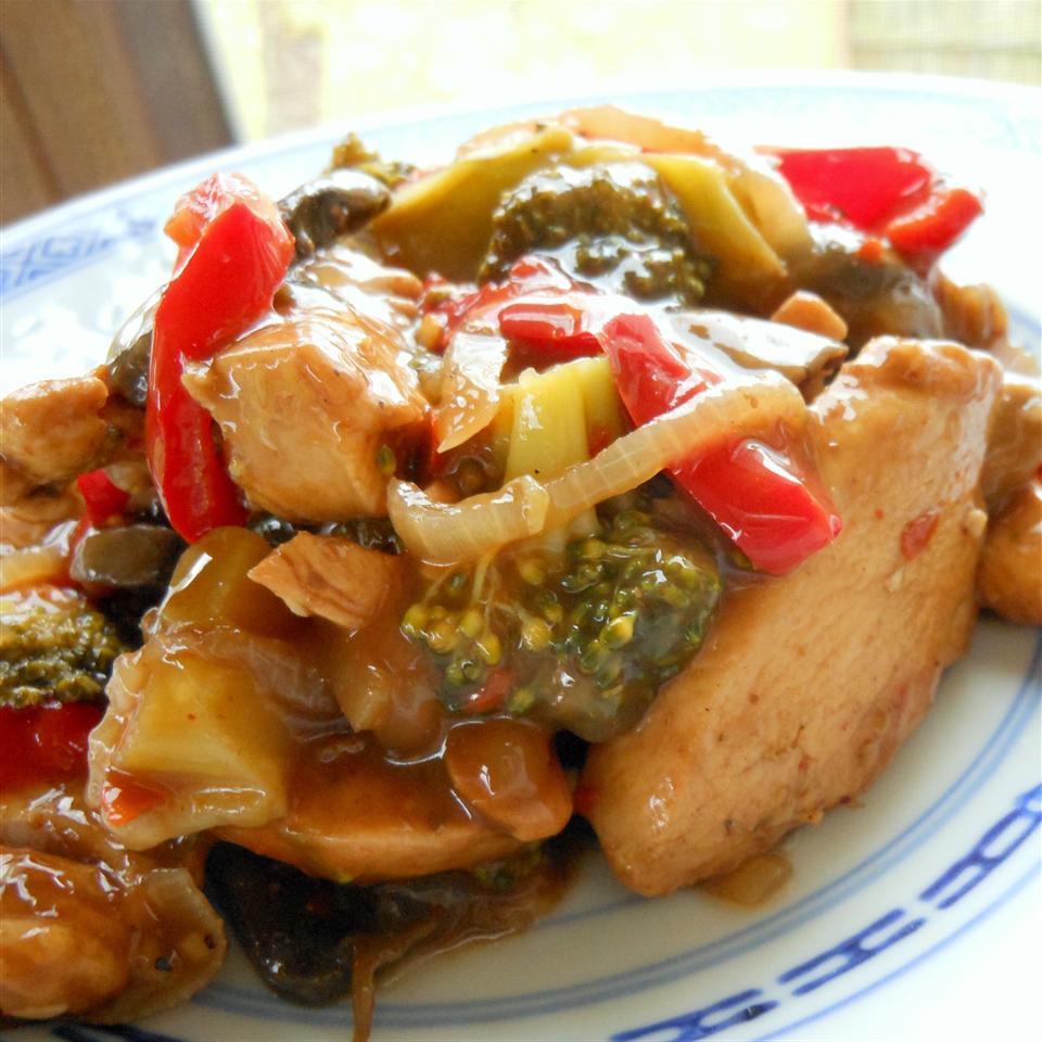 Stir-Fry Chicken and Vegetable Delight SunnyDaysNora