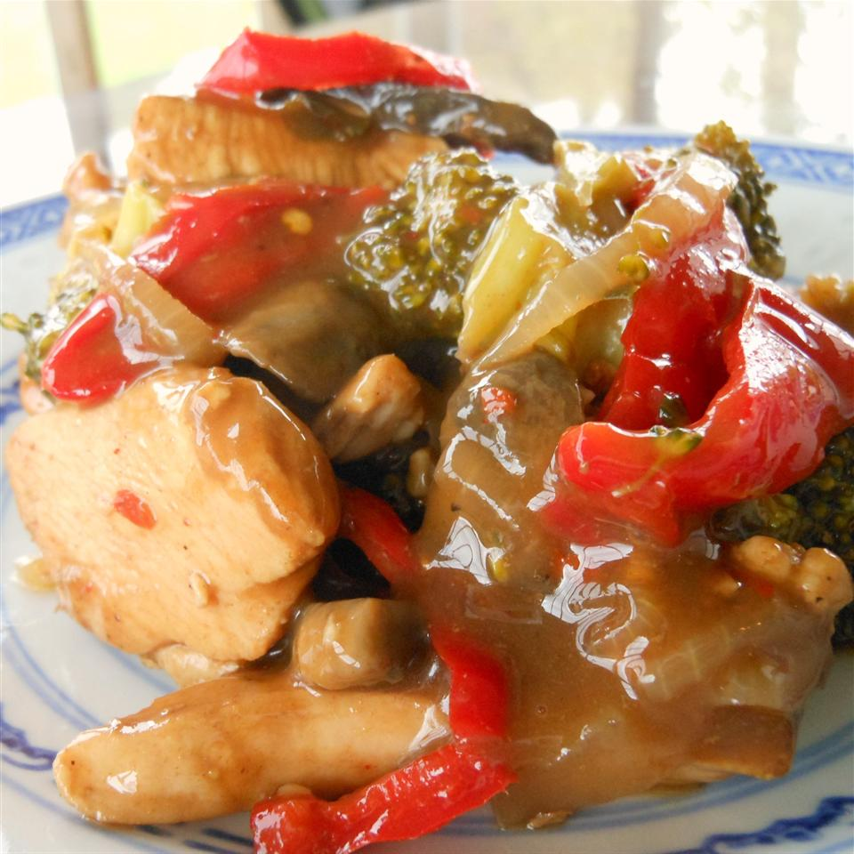 Stir-Fry Chicken and Vegetable Delight