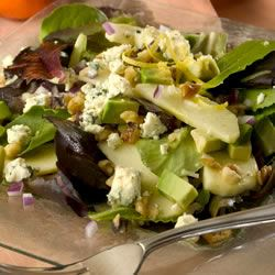 Apple Avocado Salad with Tangerine Dressing Trusted Brands