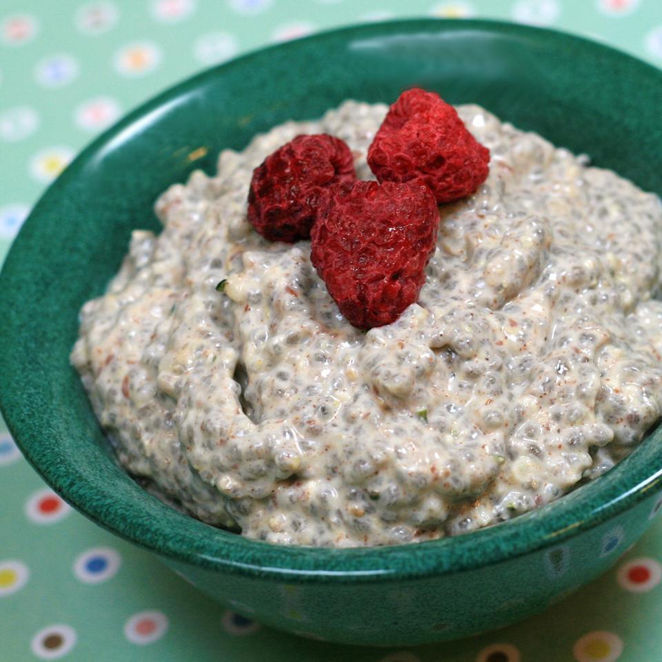 Chia Greek Yogurt Pudding France C