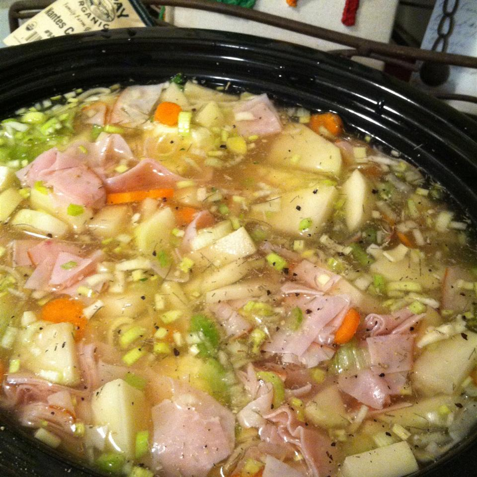 Potato Soup with Ham