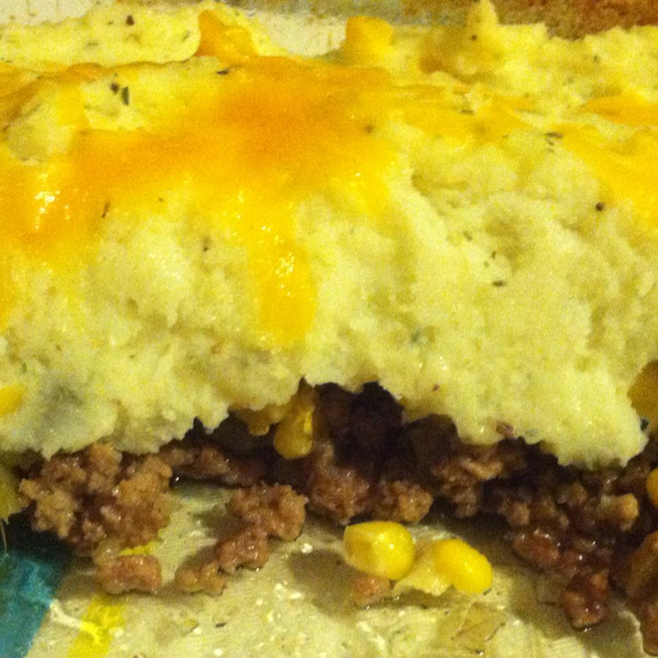 Ground Beef Shepherd's Pie GINGER P