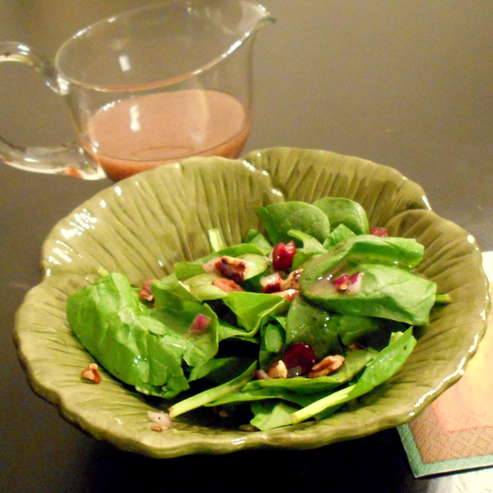 Berry Spinach Salad ONIOND