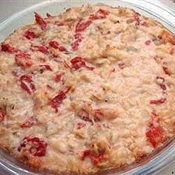 hot feta artichoke and roasted red pepper dip recipe