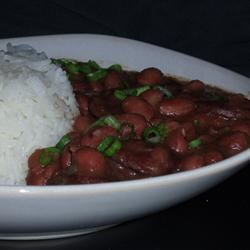 Authentic, No Shortcuts, Louisiana Red Beans and Rice Angela F.