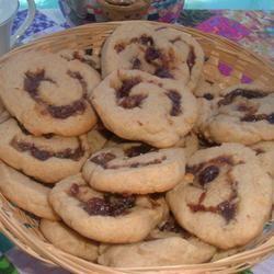 Date Nut Pinwheel Cookies I