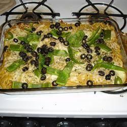 Baked Spaghetti III