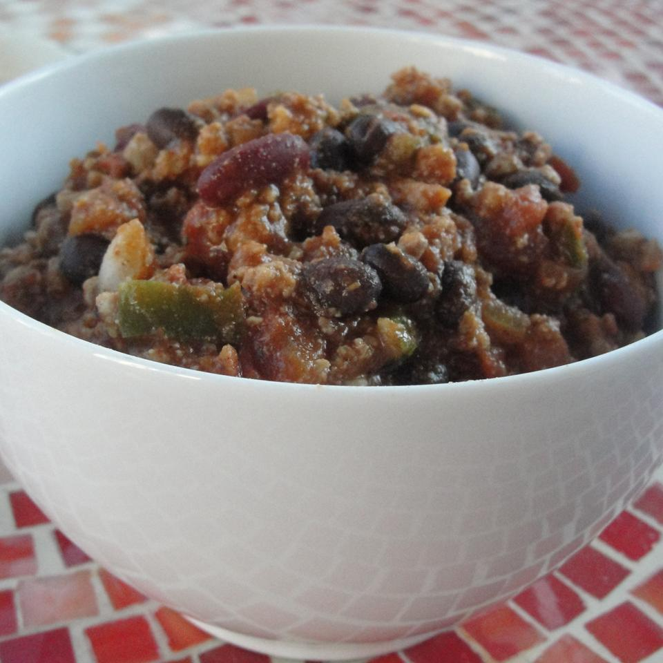 Spicy and Thick Turkey Chili