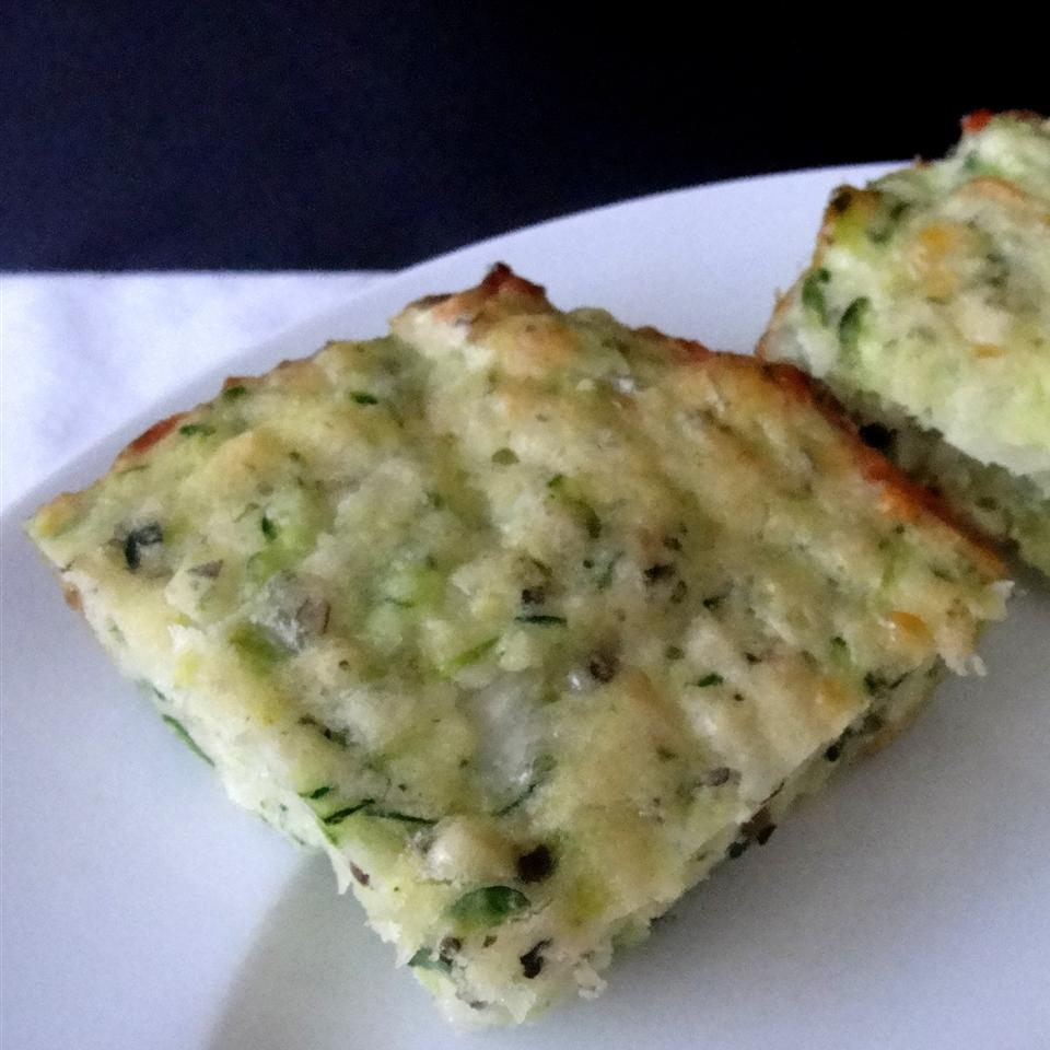 Baked Zucchini Squares Rock_lobster