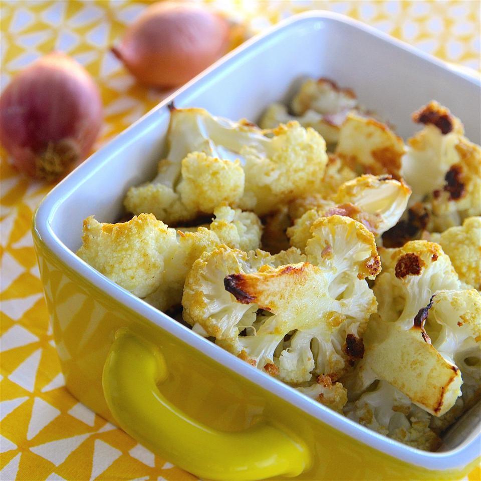 Dijon Roasted Cauliflower