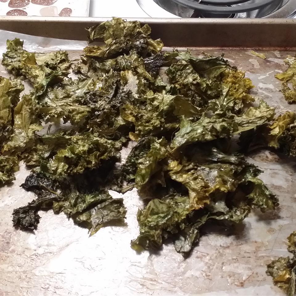 Kale Chips Samantha Lynn Shefveland