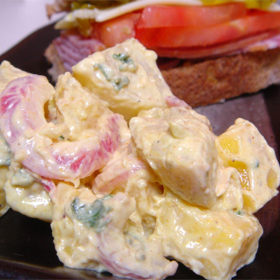 Spicy Sweet Potato Salad LynnInHK