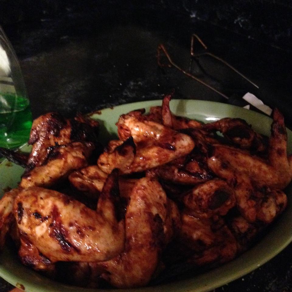 Grilled Buffalo Wings E