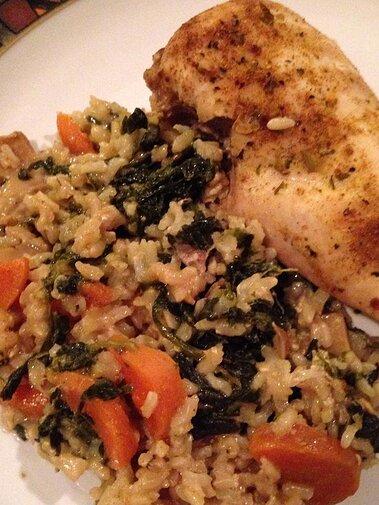 okra chicken and rice casserole recipe