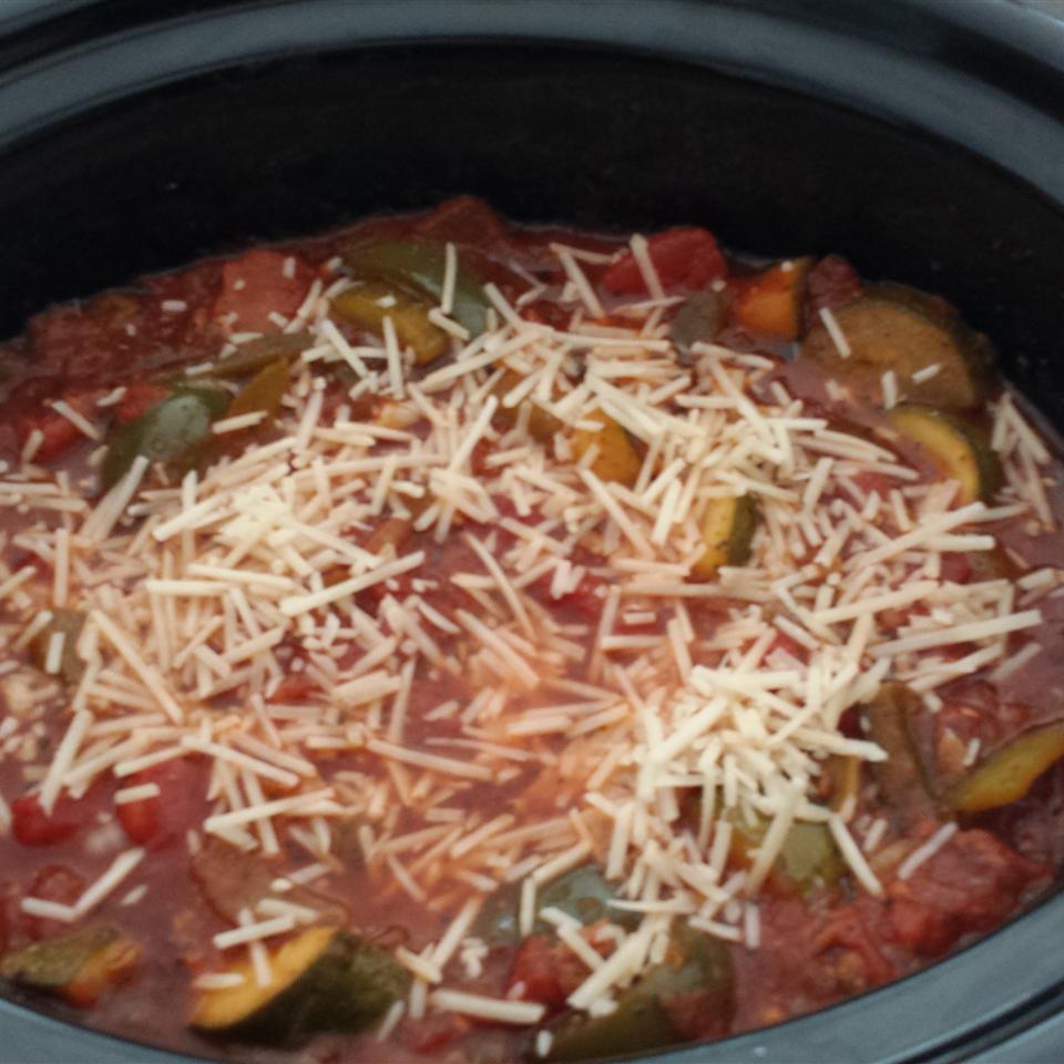 Slow Cooker Zucchini Soup Michelle