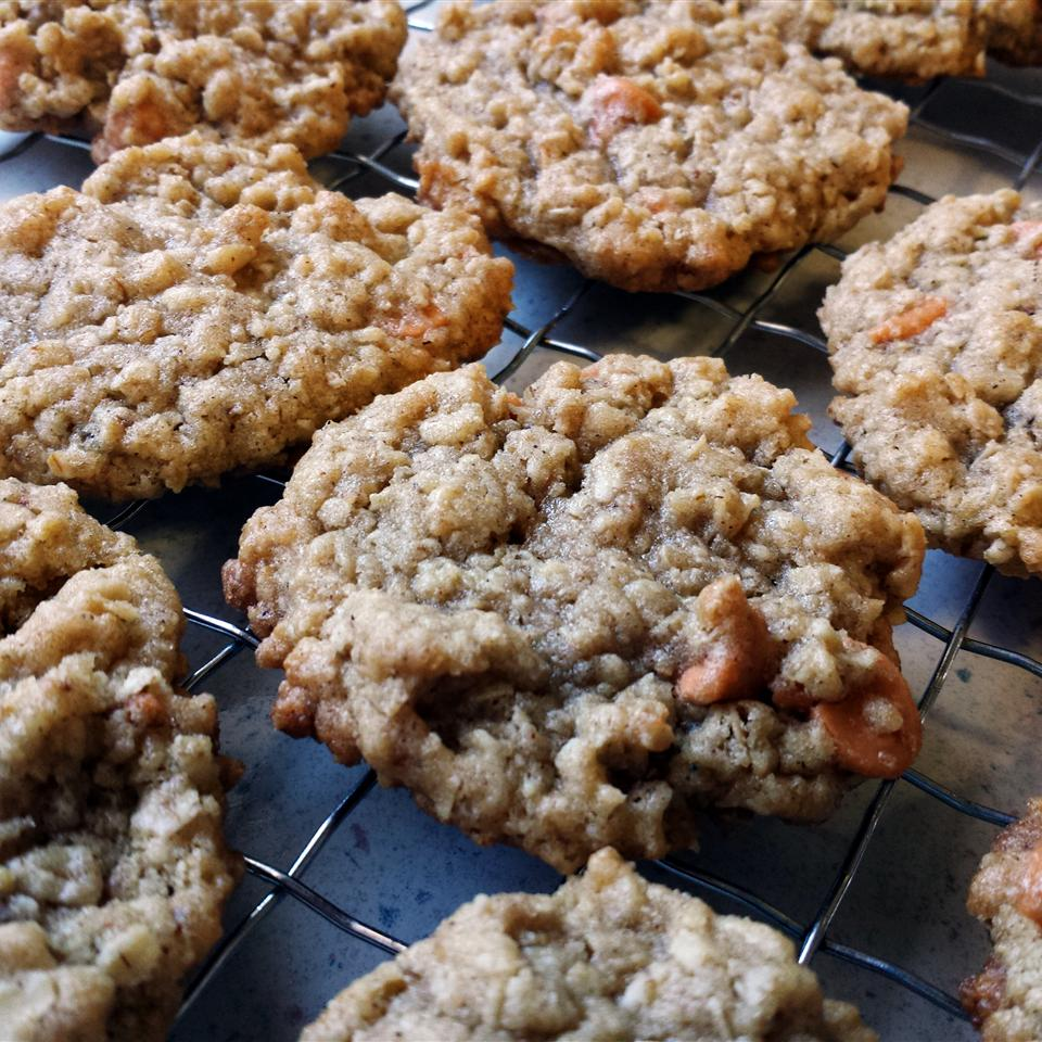 """Chewy cookies with loads of butterscotch goodness! As recipe creator Chris Diaz explains, """"If you prefer a crisper cookie, just bake for a couple of minutes longer."""""""