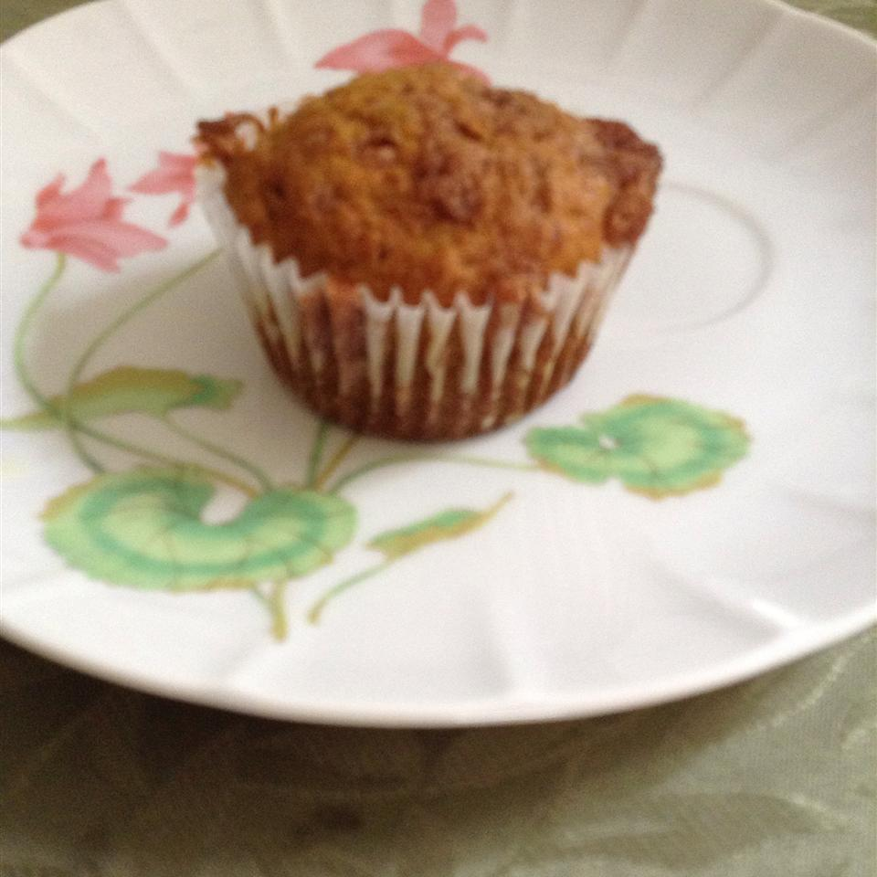 Pumpkin Muffins with Cinnamon Streusel Topping Kathy Andrew
