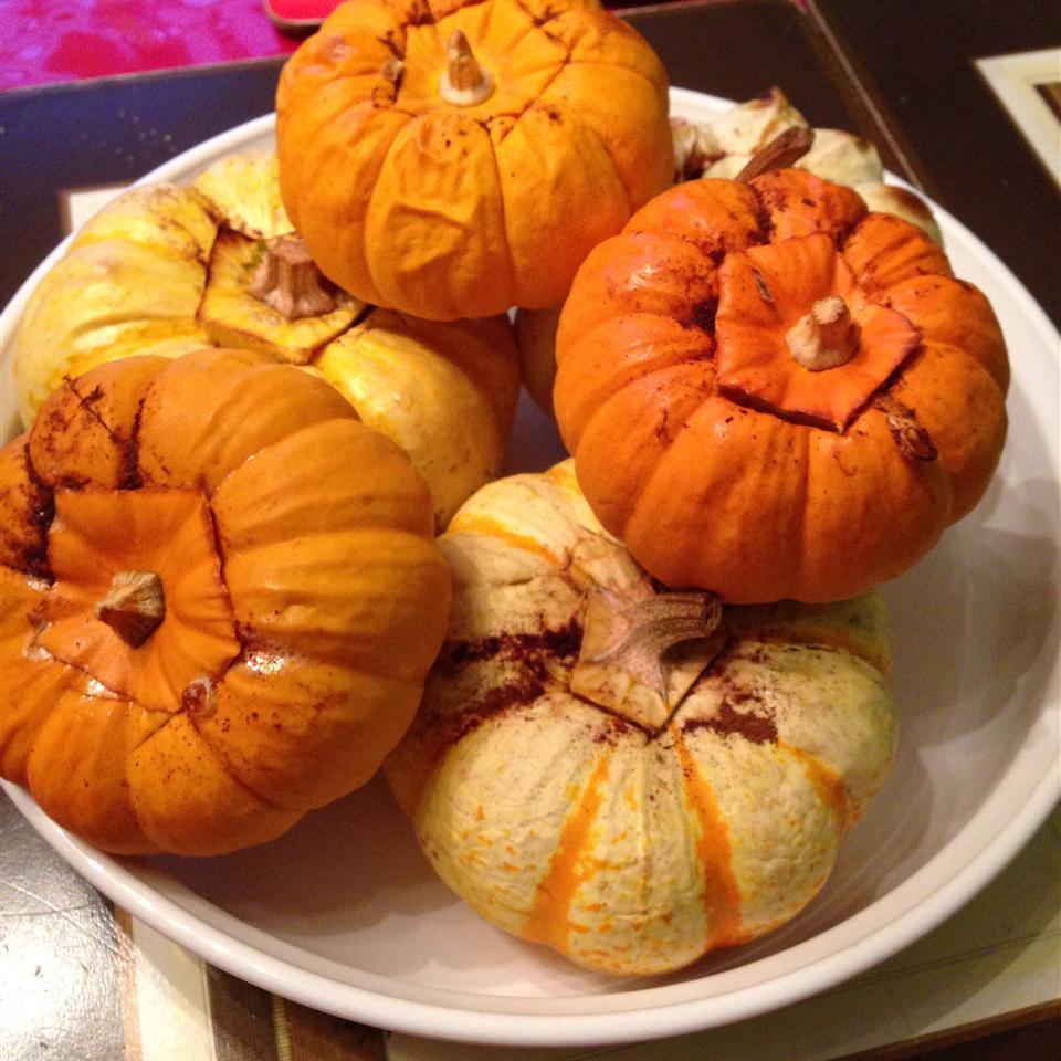 Baked Miniature Pumpkins Kim Smith