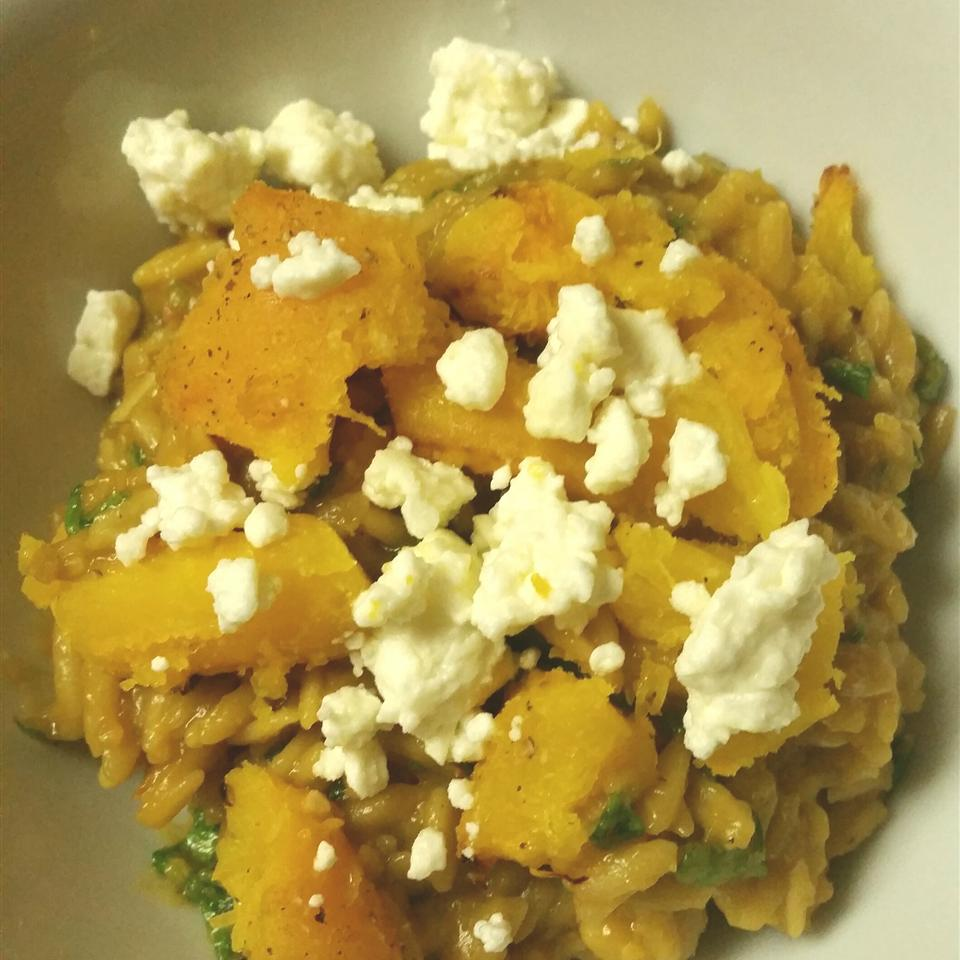 Roast Pumpkin and Feta Risotto Shamara