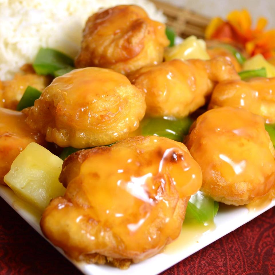Sweet and Sour Chicken I DIZ♥