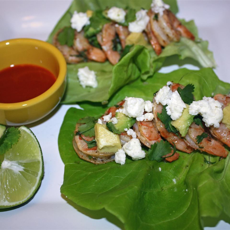 Mojito Shrimp Lettuce Wraps Janet Henderson