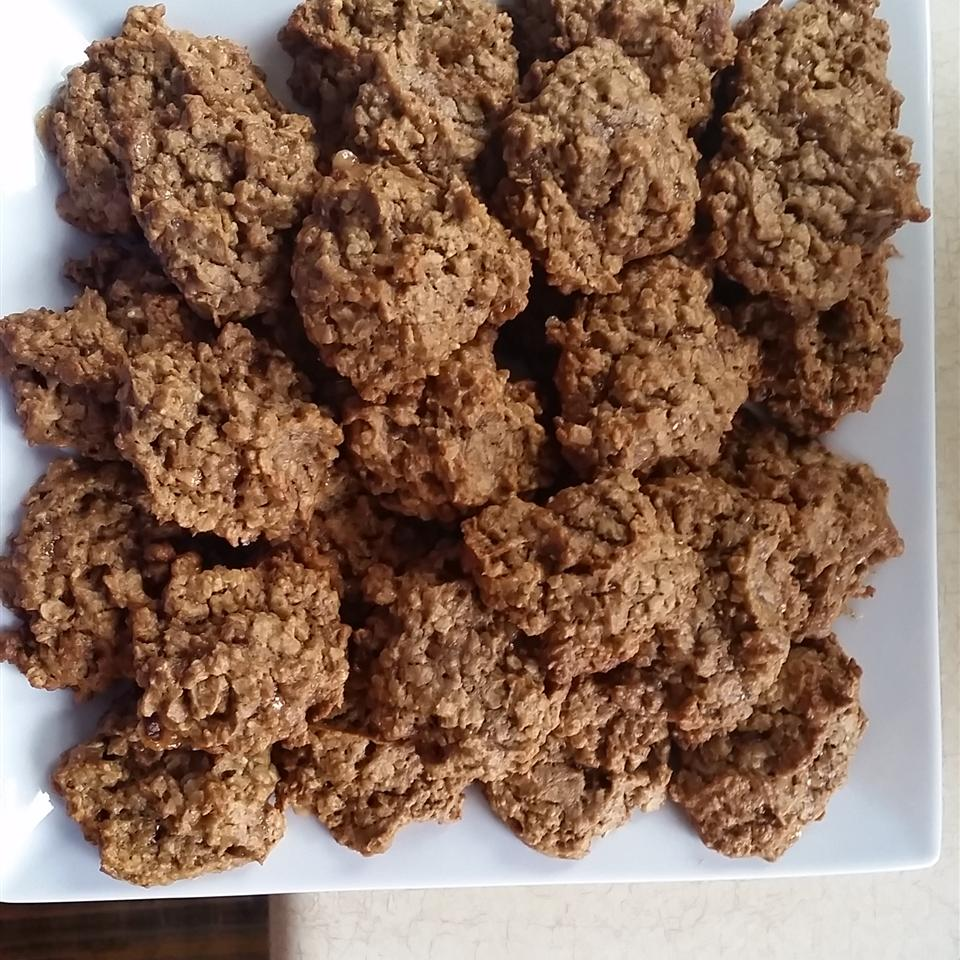 Persimmon Oatmeal Cookies