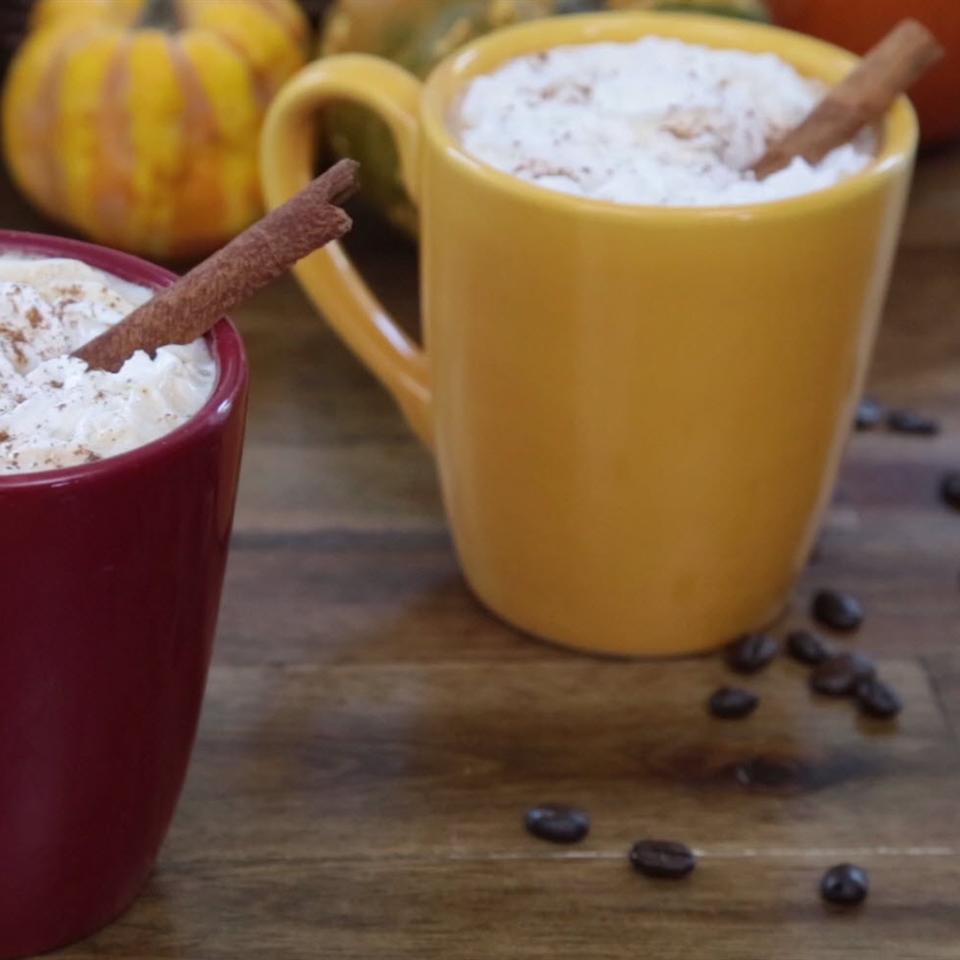 Spicy Pumpkin Spice Latte The Gruntled Gourmand