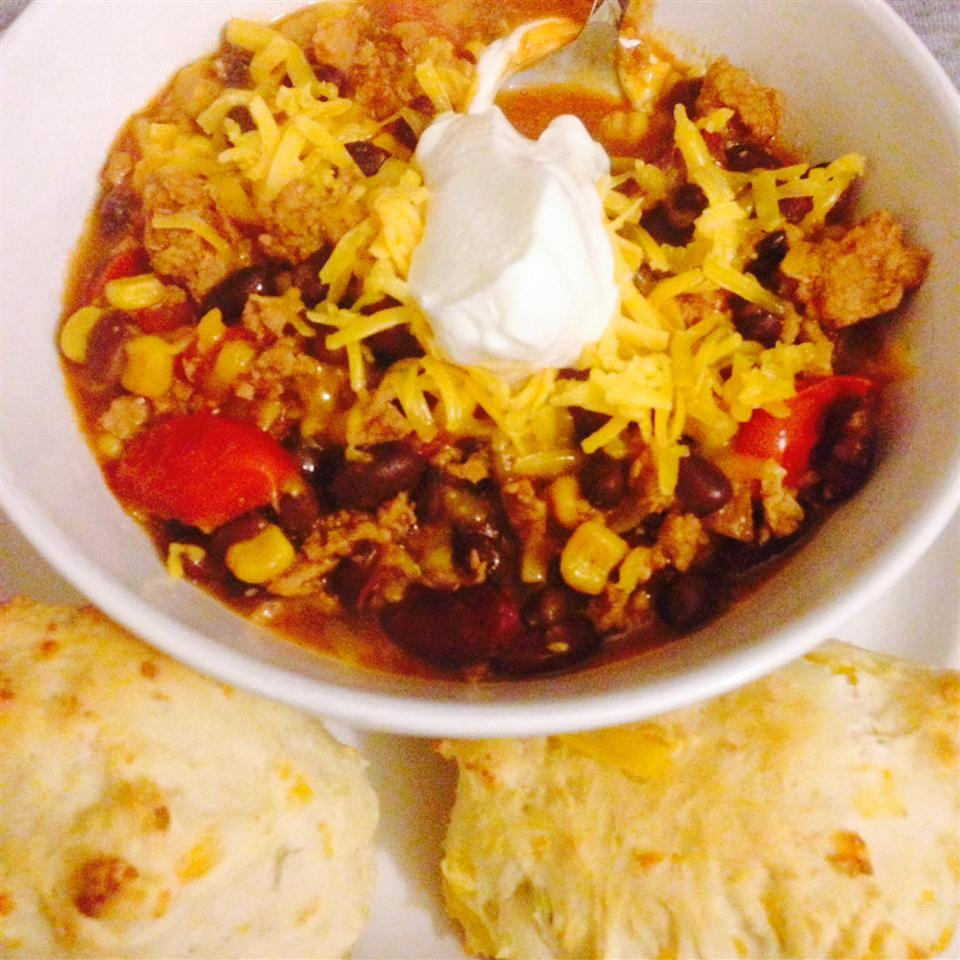 World's Best Turkey Chili Leanne Young
