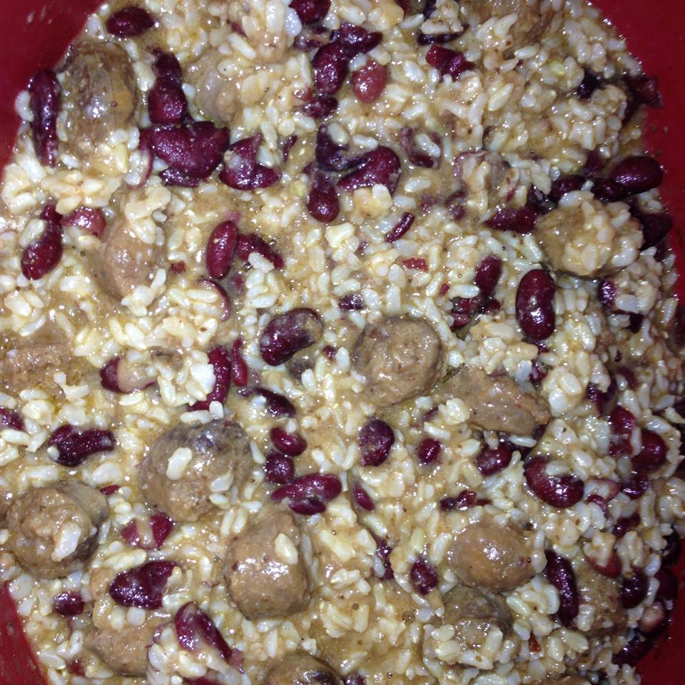 Red Beans and Rice with Sausage MMMICHELLE