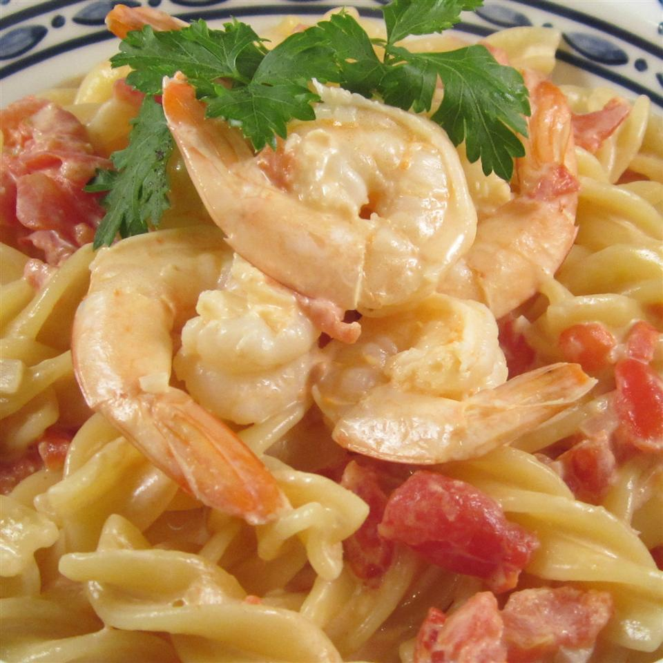 Bay Shrimp and Cream Sauce