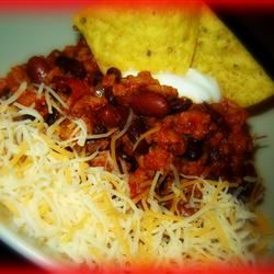 Ten Minute Chipotle Spiced Beef and Bean Chili Melanie Greer