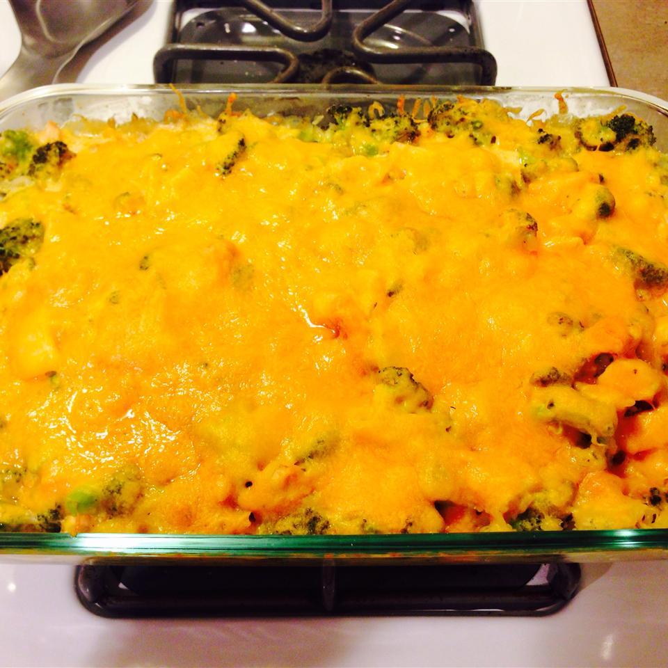 Cheesy Broccoli Chicken Casserole Hilary