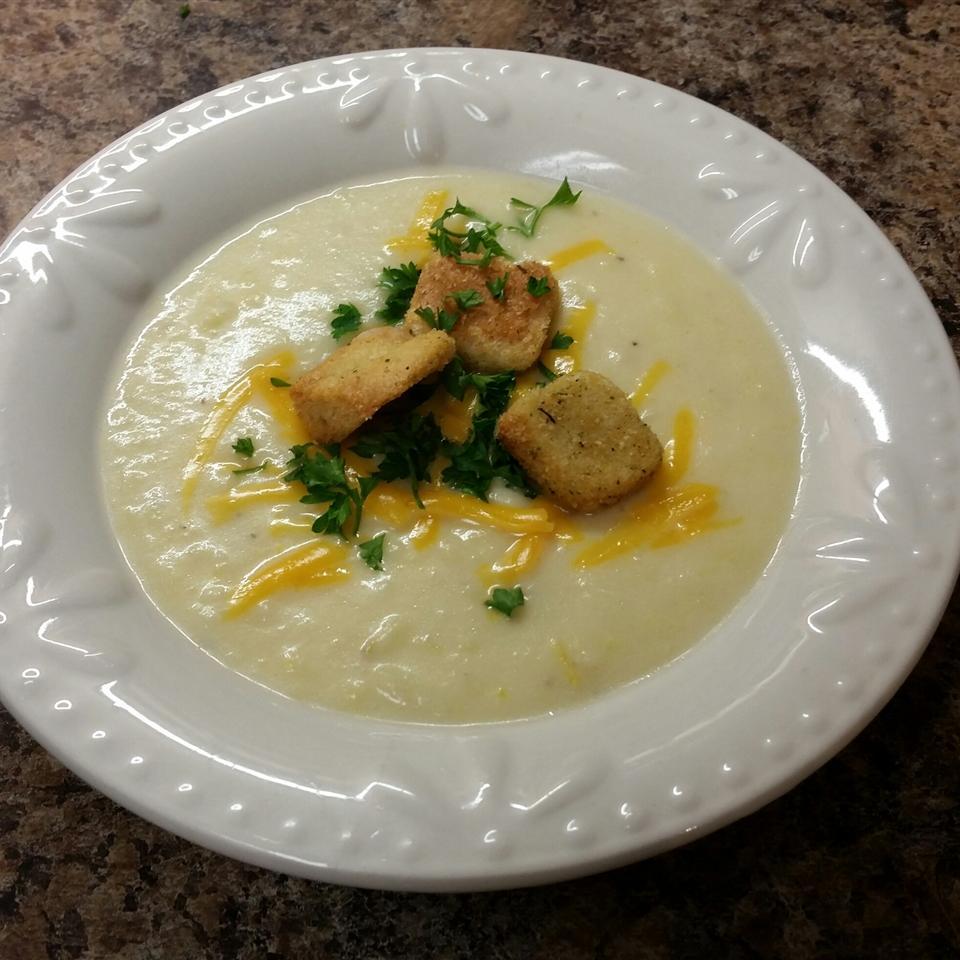 Winter Leek and Potato Soup Mary  Sylvester