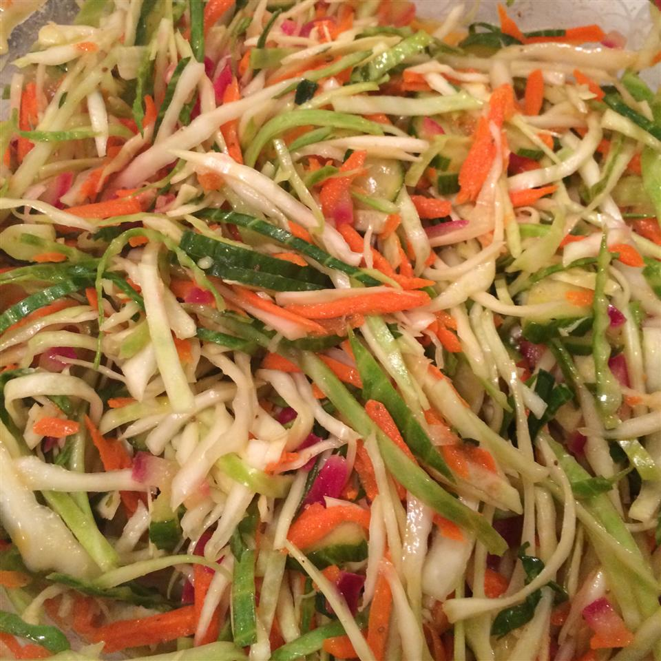 Angie's Dad's Best Cabbage Coleslaw