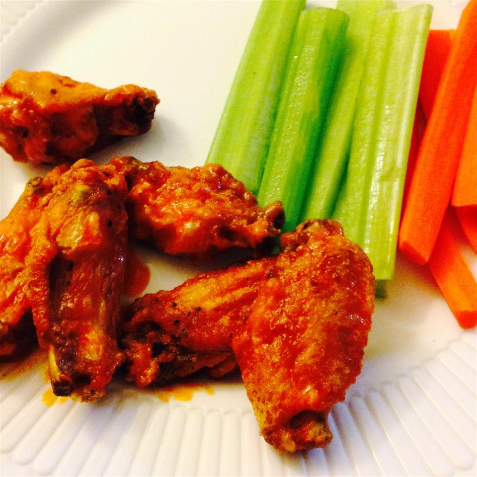 Buffalo Chicken Wings I Ginger