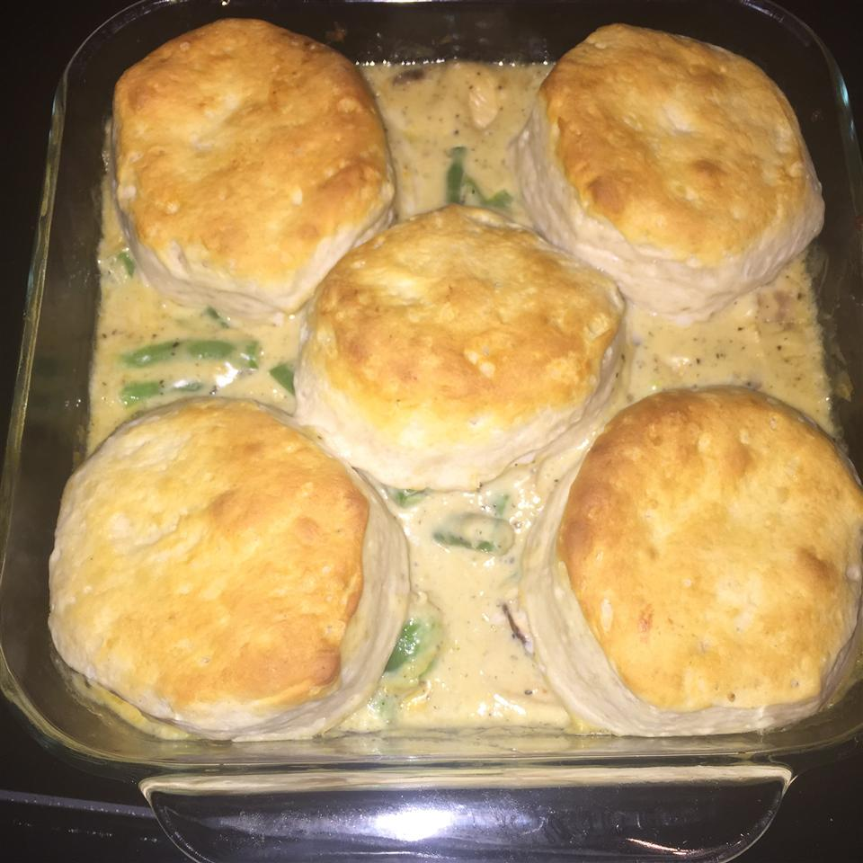 Chicken, Cheese, and Biscuits