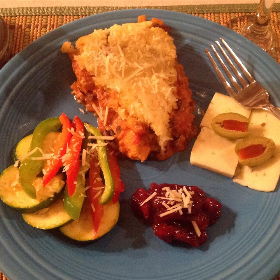Chicken Parmesan Pot Pie Kristin