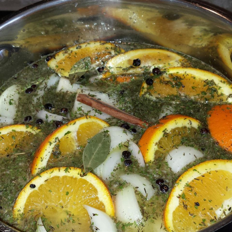 Easy Citrus Turkey Brine