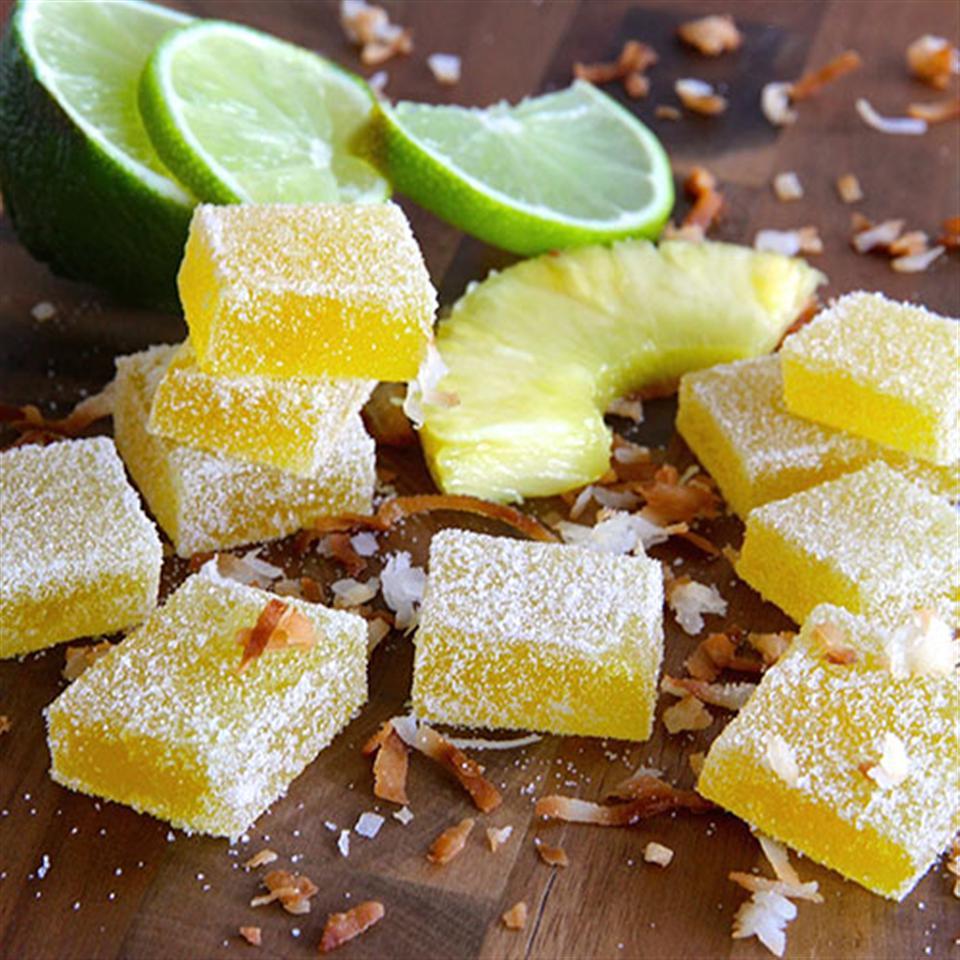 Pina Colada Fruit Jellies Trusted Brands