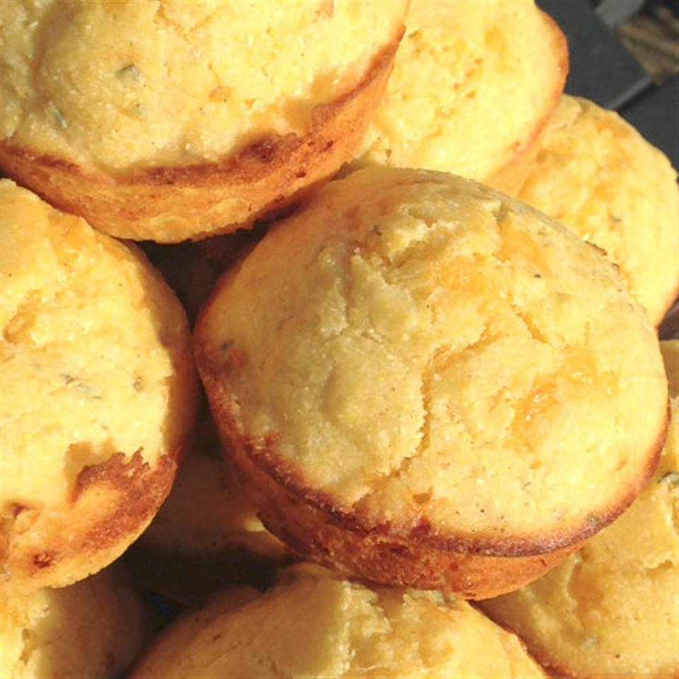 Savory Fall Corn Muffins