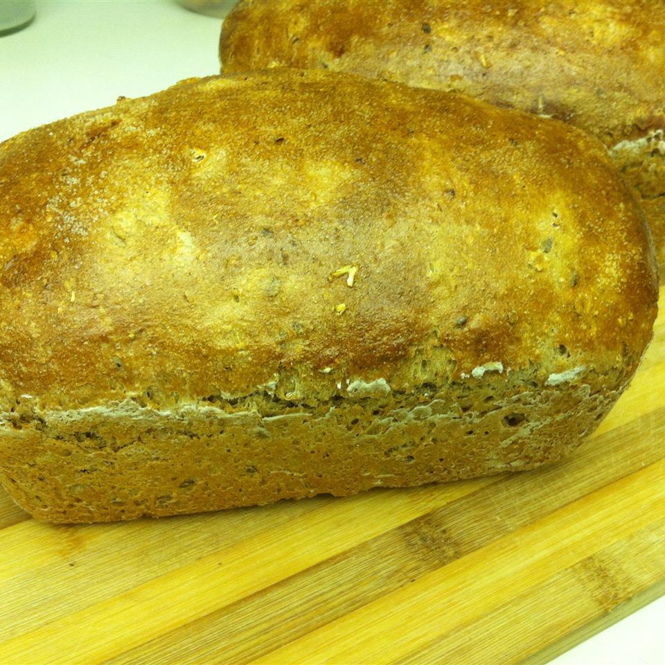 Oat Whole Wheat Bread