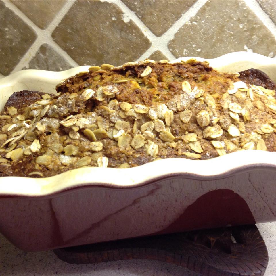 Oatmeal Banana Nut Bread backyardescape