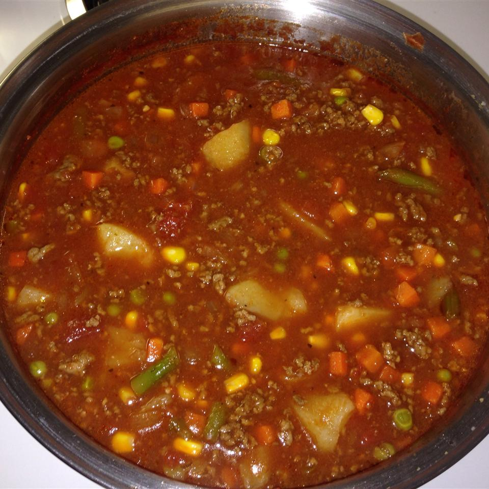 Ground Beef Vegetable Soup Arielle Nicolle S