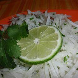 Jicama Salad with Cilantro and Lime naples34102