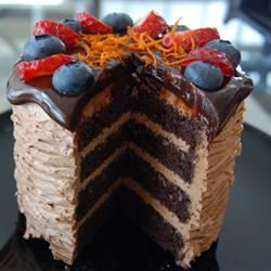 Rich Chocolate Frosting BAKABABA