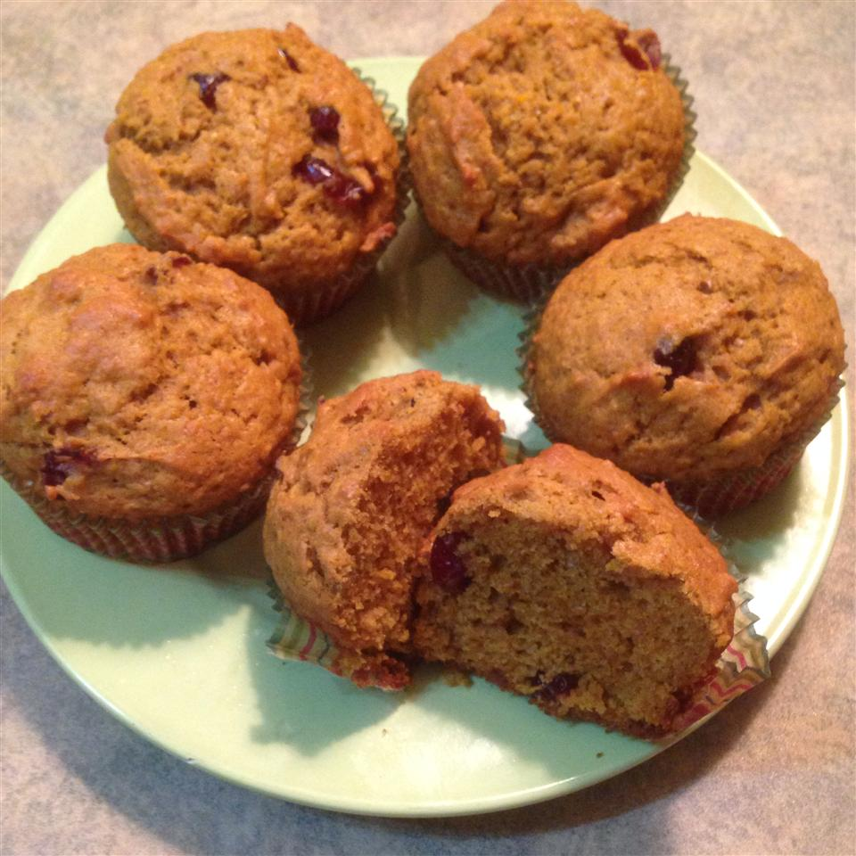 Butternut Squash and Cranberry Muffins Katicat